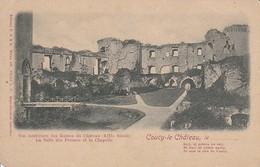CPA Coucy-le-Château - Vue Intérieure Des Ruines Du Château - La Salle Des Preuses Et La Chapelle (31222) - Laon