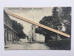 IMPDE -WOLVERTHEM «Vue Sur L'Eglise «animée,Panorama (1909). - Meise