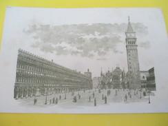 Carte Commerciale /Avec Gravure/ FESTOLINI/Verreries Artistiques/VENISE Place St Marc/ Usine à MURANO /1898  CAC106 - Francia
