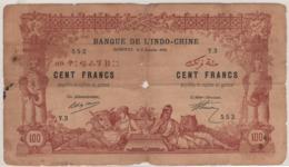 FRENCH Somaliland   DJIBOUTI  100 Francs   P5        ND   1920 - Djibouti