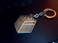 Porte Clefs En Metal Publicitaire  Batterie Kalco - Key-rings