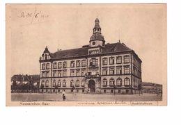 Allemagne Saar Neunkirchen Bachschulhaus Correspondance 1919 - Kreis Neunkirchen