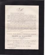 14-18 EECKEREN CALAIS André ULLENS De SCHOOTEN Caporale Auto-mitrailleuses 11 Novembre 1918 ! Schoten - Avvisi Di Necrologio