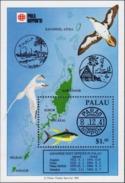 PALAU 1991 Phila Nippon, Birds, Fauna MNH - Palau