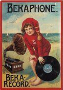 A1463 - POSTAL - BEKAPHONE - BEKA RECORD - Publicidad
