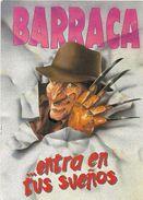 A1464 - POSTAL - BARRACA ENTRA EN TUS SUEÑOS  - FREDDY KRUGGER - Publicidad