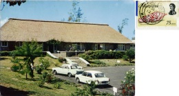 MAURITIUS  MAURICE   Hotel De Chaland  Auto   Nice Stamp Shell Theme - Mauritius