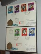 UNGARN HUNGARY  FDC 31.3.1973 (Michel Nr. 2847A-2853A) Medaillengewinner Der Olympischen Sommerspiele, München - Sommer 1972: München