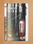 Japon Japan Free Front Bar, Balken Phonecard - 110-5414 / Yamaha Hall Clock, - Japan