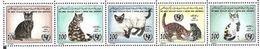1996- Libye -Cats- Complete Set MNH** - Libye