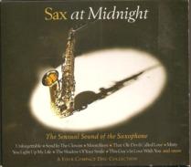 "CD     Sax  At  Minight  ""  The Sensual Sound Of The Saxophone    De  1995  -  4 CD   Avec  83  Titres - Jazz"