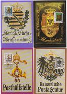 DDR 1990 MK 1 - 4/1990 Nr.3302 - 3305 Historische Posthausschilder ( D 1956) Günstige Verandkosten - DDR