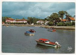 HOSSEGOR--1964--Hotel Du Parc Et Jolis Bateaux Sur Le Lac   --- - Hossegor