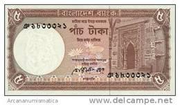 BANGLADESH  5 TAKA  1981  KM#25  PLANCHA/UNC   DL-4361 - Bangladesh