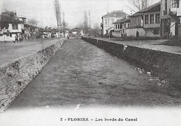 CPA  FLORINA (Grèce).  Les Bords Du Canal. ..A197 - Grecia