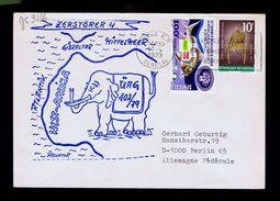 Faune Poissons Fishes Dakar Journées Medicales Pollution Santé Health SENEGAL 1979 Cover Berlin Gc3116 - Umweltverschmutzung