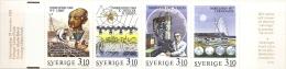 Sweden Sverige 1988 Nobelprice Chemistry Stamp Booklet MNH Libby Ziehgle&Natta Klug Prigogine - Química