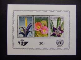 BELGICA BELGIQUE 1965 FLORA  Yvert N BLOC 38 ** MNH - Blokken 1962-....