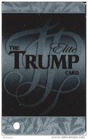 Trump Plaza Casino Atlantic City NJ Trump Elite Slot Card Non-Holographic Background - Casino Cards