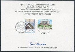 1989 Finland Aland Christmas Card - Aland