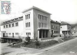"""CPSM FRANCE 01 """"Génissiat; Salle Des Fêtes, Mairie"""" - Génissiat"""