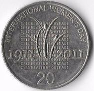 Australia 2011 20c International Women's Day [C664/2D] - Decimal Coinage (1966-...)