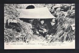 CPA .Guerre 1914/18. Belgique - Avant-poste Autour De Nieuport - Guerre 1914-18