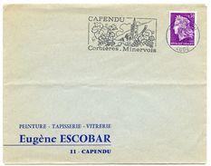 ADVERTISING : EUGENE ESCOBAR / CACHET - CAPENDU (AUDE), CORBIERES, MINERVOIS - Pubblicitari