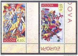 2006. Moldova,  Europa 2006, 2v, Mint/** - Moldavie