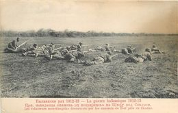 ECLAIREURS MONTENEGRINS à STOÏ Près De SKADAR - 1912 - GUERRE DES BALKANS - MONTENEGRO & SES ALLIES CONTRE TURQUIE - Montenegro