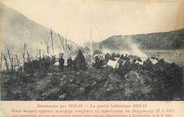 BARDAGNOLE - POSITION TURQUE PRISE PAR  MONTENEGRO -1913 - GUERRE DES BALKANS - MONTENEGRO & SES ALLIES CONTRE TURQUIE - Montenegro