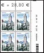 France Coin Daté N° 4634 ** La Grande Mosquée De Paris Du 22-09-11 - Coins Datés