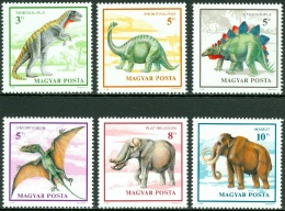 HUNGARY 1990 PREHISTORIC ANIMALS** (MNH) - Prehistorics