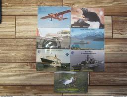 """7 Telecartes / Phonecards """""""" Falklands Islands  """"""""  Lot 1 - Falkland Islands"""