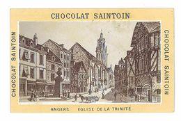 CHROMO IMAGE CHOCOLAT SAINTOIN ANGERS EGLISE DE LA TRINITE - Other