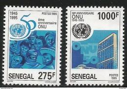 1995 Senegal  UN United Nations Complete Set Of 2  MNH - Senegal (1960-...)