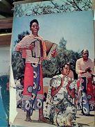 MADAGASCAR ZONA SUD DANSEUR DANZATORI BARA FISARMONICA N1975 GI17613 - Madagascar