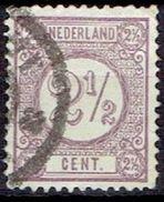NETHERLANDS # FROM 1876 STAMPWORLD 33a - 1852-1890 (Wilhelm III.)