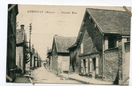 CPA 51  :  AMBONNAY   Grande Rue    VOIR  DESCRIPTIF  §§§ - Autres Communes