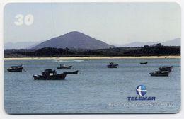 Bateau Boat Montagne Télécarte Telefonkarten Phonecard (D.147) - Bateaux