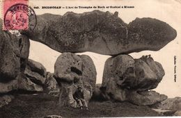 BRIGNOGAN -29- L'ARC DE TRIOMPHE DU ROCH AR GUEHEL A MINEOC - Brignogan-Plage