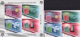 Imperforiert EUROPA 2006 108/1+Block 2 B ** 160€ Hojita Bloc Art Ss Waps Sheet Space M/s Bf Topic Stamp On Stamps - Montenegro