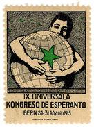 (I.B) Cinderella (Esperanto) Collection : Congress Label (Berlin 1913) - Poland