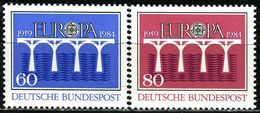 BRD - Mi 1210 / 1211 - ** Postfrisch (F) - 60-80Pf           CEPT 84 - Unused Stamps