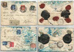 Lotto #2 Assicurate X Lire 500 Tariffa L3,45 Genova X Napoli 1930 Ann.Natante ++ - Assicurati