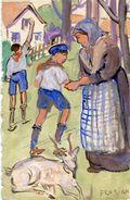 SCOUTISME(CARTE PEINTE A LA MAIN) - Scouting