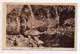Pieve Tesino (Trento) - Lago Di Cima D'Asta - Viaggiata Nel 1927 - (FDC5990) - Trento