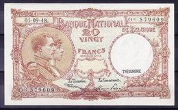 BELGIQUE MORIN N° 28, 01.09.1948 UNC . (BB6) - [ 6] Treasury