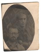OLD Original Photo WW2 6x4cm Portrait Soldiers Soviet Army 1942 Stalingrad Front USSR (6530) - 1939-45