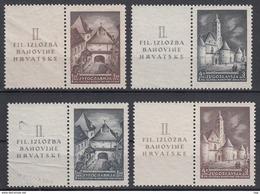 JOEGOSLAVIË - Michel - 1941 - Nr 437/38 Zf + 439/40 Zf - MNH** - 1931-1941 Royaume De Yougoslavie